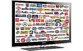 Primer anuncio en TELEVISION