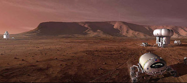 Manned Mision to Mars