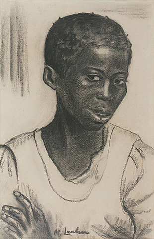 Girl with folded arms