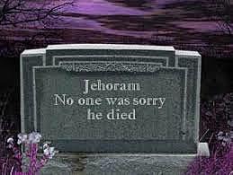 Jehoram Dies From Pestilence