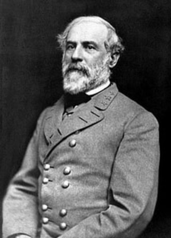 Robert E. Lee becomes commander