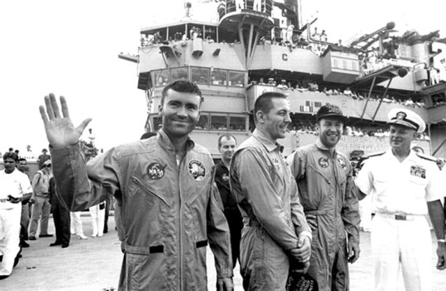 Apollo 13 was launched