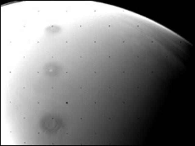 American probe orbits Mars