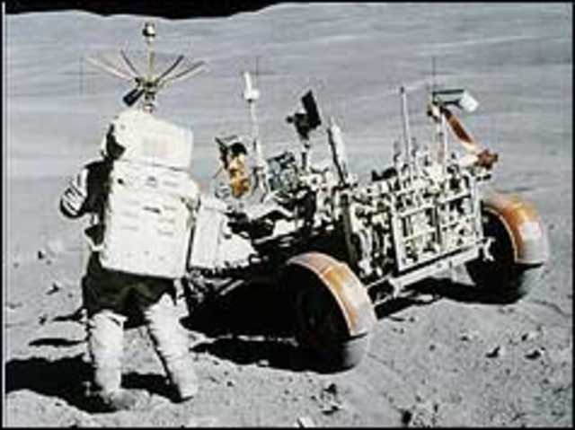 Apollo 16 safely on Moon after engine crisis