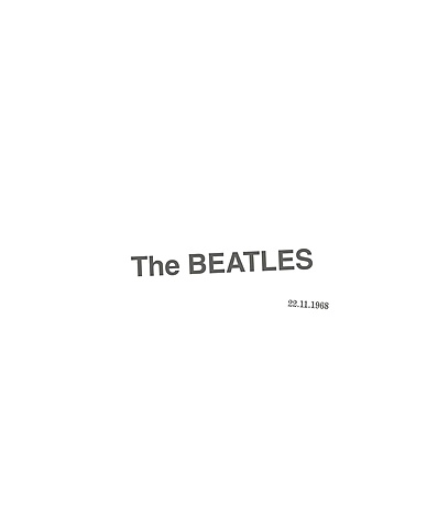 "The Beatles (""The White Album)"