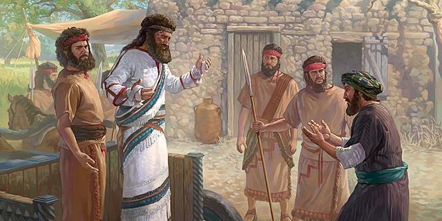 Naaman was Healed.
