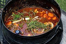 Elisha purifies the Deadly Stew