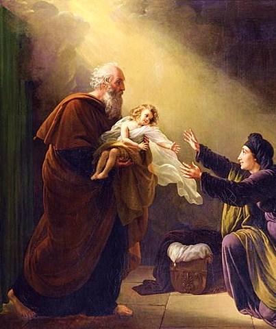 Elisha raises the Shunammite woman's son