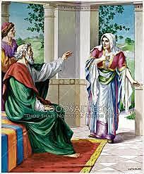 Elisha Promises the Shunammite a Son