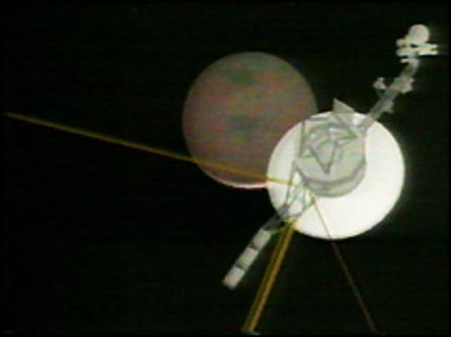 Voyager spacecraft reaches Neptune
