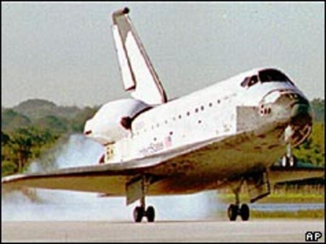 Fault cuts short space shuttle mission
