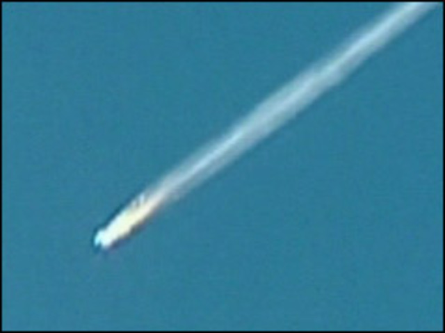 Columbia shuttle disintegrates killing seven