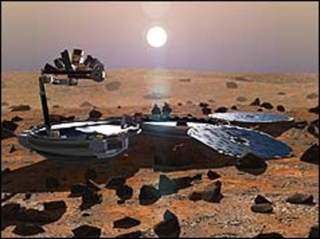 Mars space probe disappears
