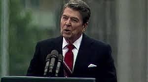 """Mr. Gorbachev, Tear Down This Wall"""