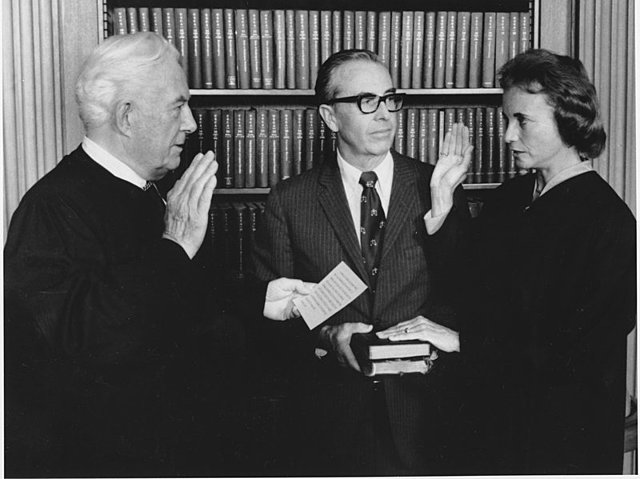 Sandra Day O'Connor Appointed to U.S Supreme Court.