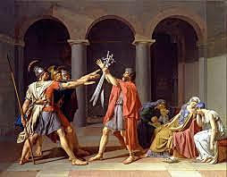 Rome: The Horatii vanquish the Curiatii