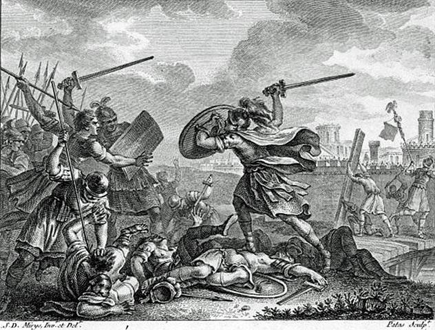 Rome: Horatius defends the bridge over the Tiber