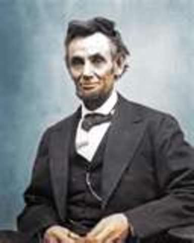 Abraham Lincoln elected President of the United States