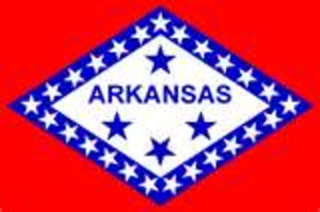 Arkansas cecedes from the union