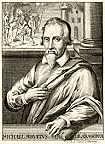 DescripciónMiguel Servet, anomenat també Miguel de Villanueva, Michel de Villeneuve o, en llatí, Michael Servetus, va ser un teòleg i científic espanyol.