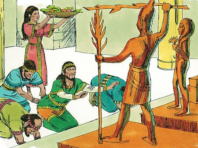 Jehoiada's death, Judah worships idols