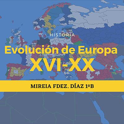 Historia de Europa (XVI-XX) timeline