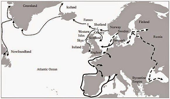 Les conquestes de Noruega i de Finlàndia