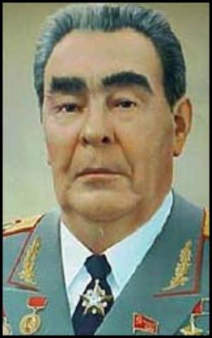 Leonid Brezhnev became the leader of the soviet union