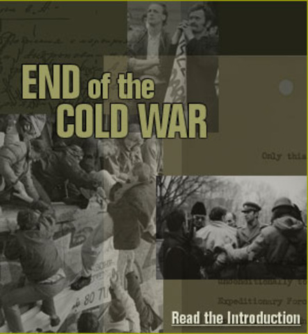 Fall of the Soviet Union/End of the Cold War