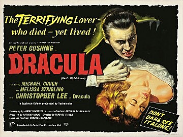 Horror of Dracula by Terence Fisher (Hammer Horror Series)