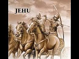 Jehu kills Joram and Ahaziah