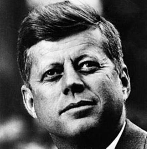 John F. Kennedy is assassinated.