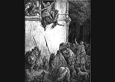 Jehu executes Jezebel