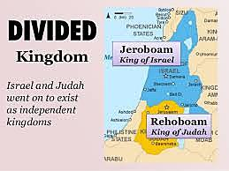 The Kingdom of Israel divided