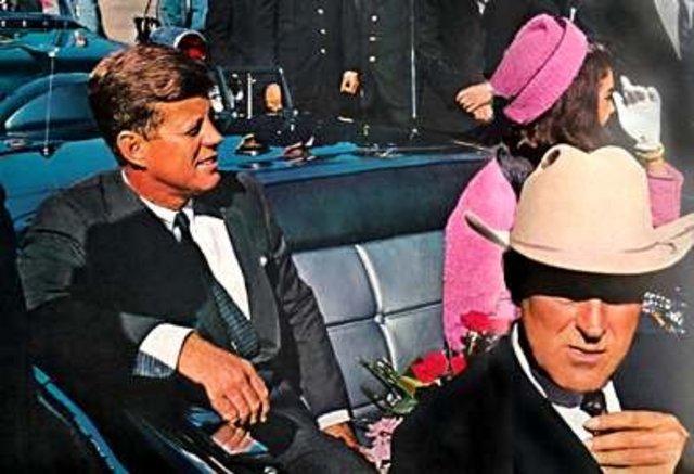 President JFK is assassinated.