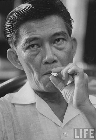 Ngo Dinh Diem President of South Vietnam