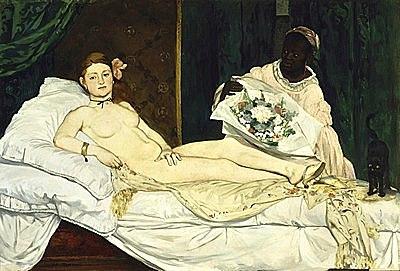 'Olympia' de Manet