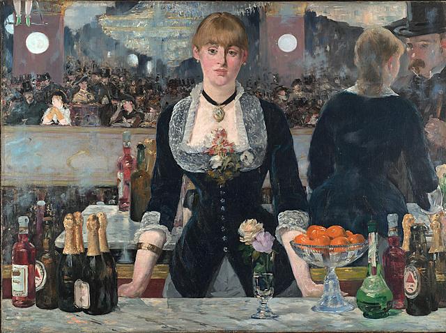 'Un bar del Folies-Bergère' de Manet