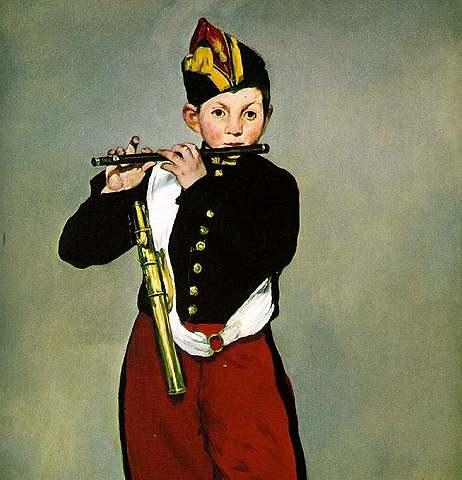 'El pífano' de Manet