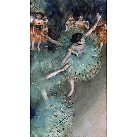 'Bailarina basculando' de Degas