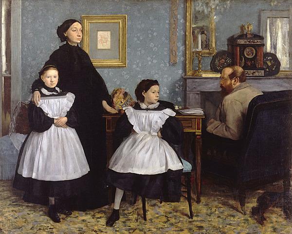 'La familia Bellelli' de Degas