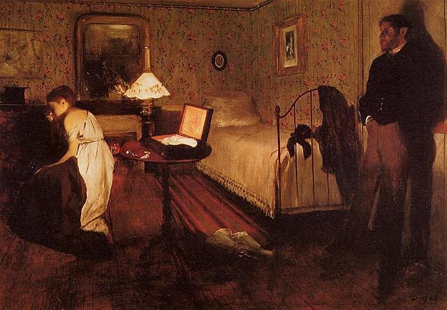 'El Interior' de Degas
