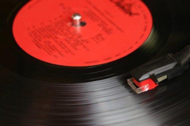 Pletina de discos de vinilo