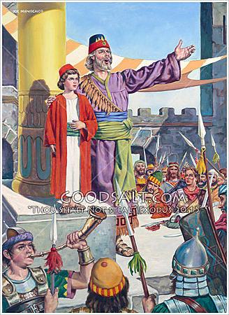 Joash Becomes King in Judah