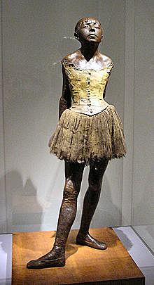 'La pequeña bailarina de catorce años' de Degas