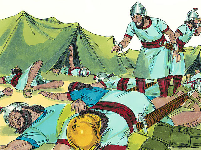Hezekiah Calls on God to Help with the Assyrians