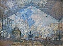 'La estación de Saint-Lazare' de Monet