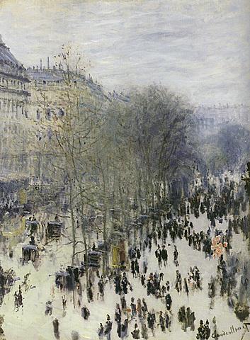 'Boulevard des Capucines' de Monet