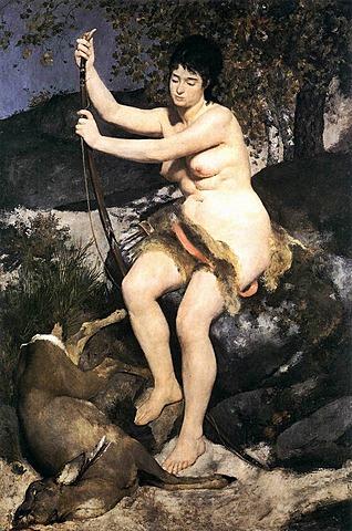'Diana cazadora' de Renoir