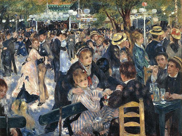 'Baile en el Moulin de la Galette' de Renoir